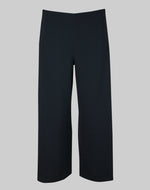 Trousers Magda in midnight stretch crepe