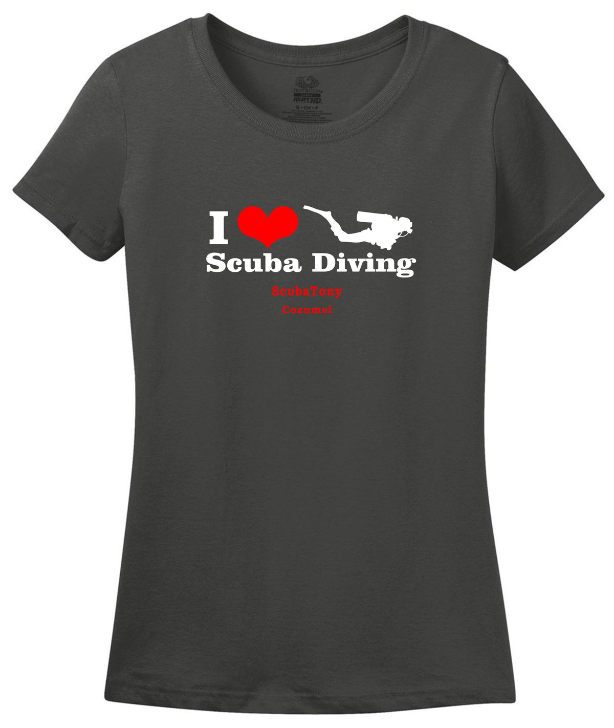 Women's I Love Scuba Diving