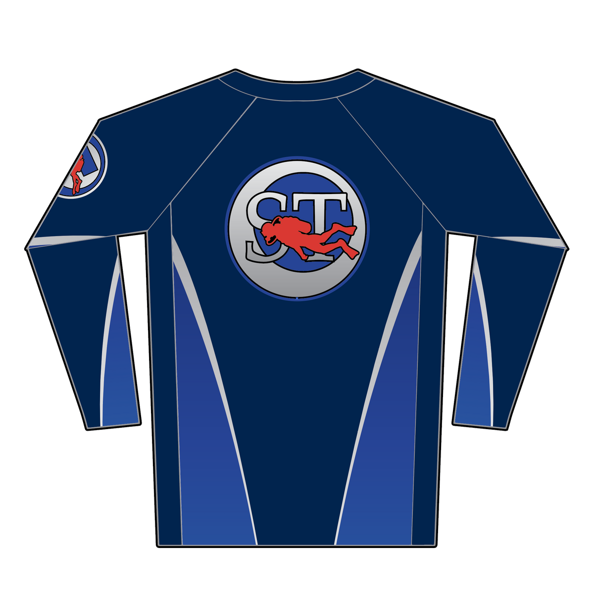 ScubaTony Rash Guard - Navy