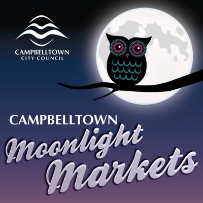 Campbelltown Moonight Markets feature artisan craft and fashion stalls at Thorndon Park