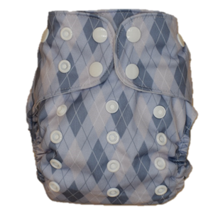 (Seconds) Newborn Nappy - Little Golfer Shell Only - Minnie & Mae