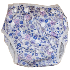 Lilac Breeze Swim Nappy - Minnie & Mae