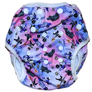 Heros In Blue Swim Nappy
