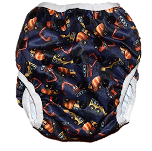 Under Construction Swim Nappy