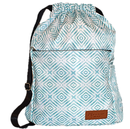 Swim Bag - Blue Illusion
