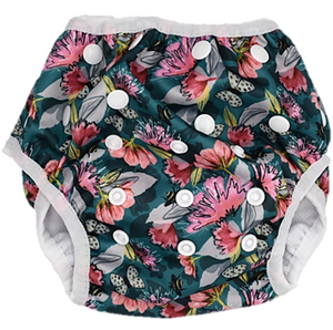 Botannical Rhapsody Swim Nappy - Minnie & Mae