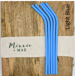 Silicone Straw Packs - Minnie & Mae