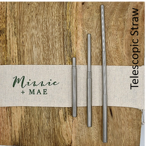 Telescopic Straw - Minnie & Mae