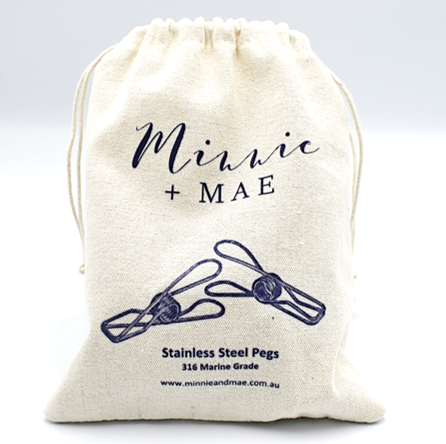 36 pack - Marine Grade Stainless Steel Pegs - Minnie & Mae