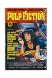 Pulp Fiction Movie Poster on Framed Canvas Wall Art Prints Floral Pictures Home Decoration Room Deco Poster Photo Artwork-FRONT