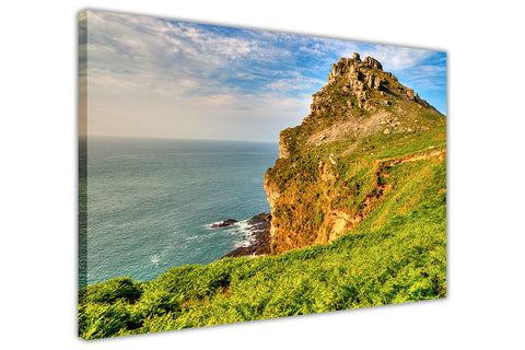 Cliff Edge View on Framed Canvas Wall Art Prints Room Deco Poster Photo Landscape Pictures Home Decoration Artwork-3D