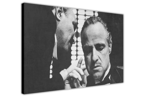 The Godfather Movie Poster Canvas Pictures Wall Art Prints Room Decoration