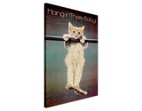 Famous Picture Kitten Hang In There on Framed Canvas Wall Art Prints Home Decoration Pictures Room Deco Photo-3D