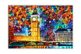 London 2012 Olympics Oil Painting By Leonid Afremov Re-printed on Framed Canvas Wall Art Prints Home Decoration Pictures Room Deco Photo-Front