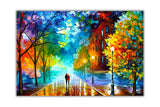 Freshness Of The Cold By Leonid Afremov Canvas print Wall Art Pictures for Living Room Bedroom Office Home Decoration Oil Painting Re-print-Front