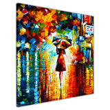 Rain Princess By Leonid Afremov Canvas print Wall Art Pictures for Living Room Bedroom Office Home Decoration Oil Painting Re-print-3D
