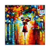 Rain Princess By Leonid Afremov Canvas print Wall Art Pictures for Living Room Bedroom Office Home Decoration Oil Painting Re-print-Front
