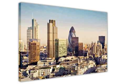 london prints city summer view framed pictures canvas wall art images home decoration modern art-3D