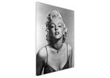Black And White Canvas Prints Marilyn Monroe Portrait Wall Art Pictures Home