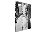 Black And White Marilyn Monroe Movie Set Photo Shoot Framed Prints Canvas Wall Art Pictures