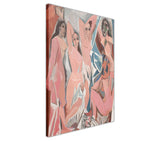 Les Demoiselles d'Avignon by Pablo Picasso Oil Painting Re-printed on Framed Canvas Wall Art Prints Home Decoration Pictures Room Deco Photo-3D