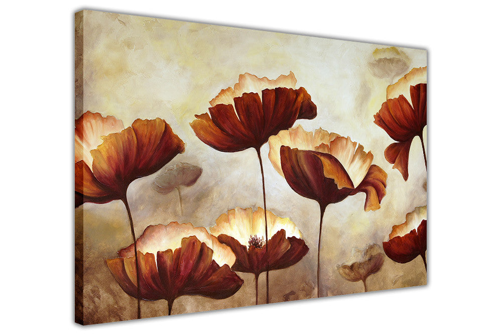 Poppy flower oil painting re printed on framed canvas wall art poppy flower oil painting re printed on framed canvas wall art prints home decoration pictures mightylinksfo