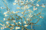 Almond Blossom by Vincent Van Gogh Oil Painting Re-printed on Framed Canvas Wall Art Prints Home Decoration Pictures Room Deco Photo-Front