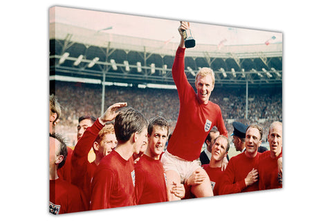 England Vs Germany World Cup 1966 on Framed Canvas Wall Art Prints Home Decoration Pictures Room Deco Photo-3D
