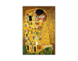 The Kiss By Gustav Klimt Oil Painting Re-printed on Framed Canvas Wall Art Prints Home Decoration Pictures Room Deco Photo-Front