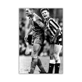 Funny Photo of Vinnie Jones Squeezing Gazza's Testicles on Framed Canvas Wall Art Prints Home Decoration Pictures Room Deco Photo-Front