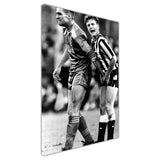 Funny Photo of Vinnie Jones Squeezing Gazza's Testicles on Framed Canvas Wall Art Prints Home Decoration Pictures Room Deco Photo-3D
