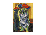 Weeping Woman Oil Painting by Pablo Picasso Re-printed on Framed Canvas Wall Art Prints Home Decoration Pictures Room Deco Photo-Front
