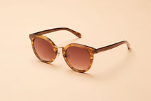 Load image into Gallery viewer, Lacerta Cognac Sunglasses Australia
