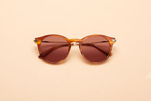 Load image into Gallery viewer, Caleum Polarised Cognac Sunglasses Australia
