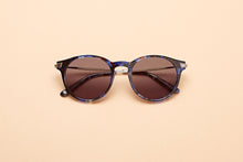 Load image into Gallery viewer, Caleum Polarised Blue Tortoise Sunglasses Australia