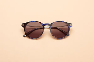 Caleum Polarised Blue Tortoise Sunglasses Australia