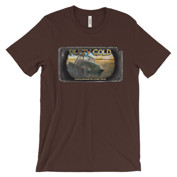 Sinking Beneath the Amber Waves T-shirt