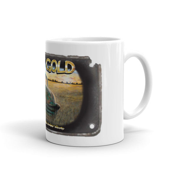 Sinking Beneath the Amber Waves Mug