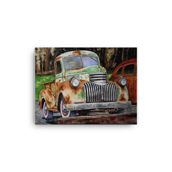 1942 Chevrolet Pickup - Going Home Canvas