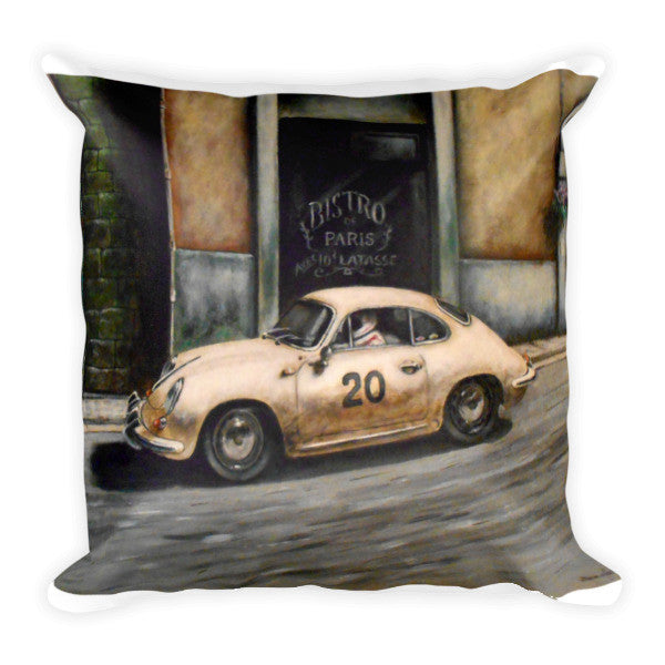 Course De Rue pillow