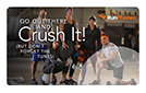 RunPhones Gift Card Crush Your Workout