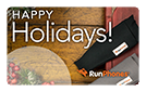 RunPhones Gift Card Happy Holidays