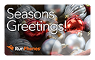 RunPhones Gift Card Seasons Greetings