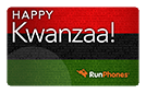 RunPhones Gift Card Happy Kwanzaa