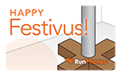 RunPhones Gift Card Happy Festivus
