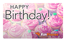 RunPhones Gift Card Happy Birthday