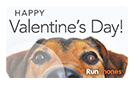 RunPhones Gift Card Happy Valentine's Day