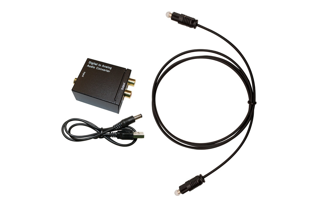 Optical Cable Converter Kit for TellyPhones™ by SleepPhones®