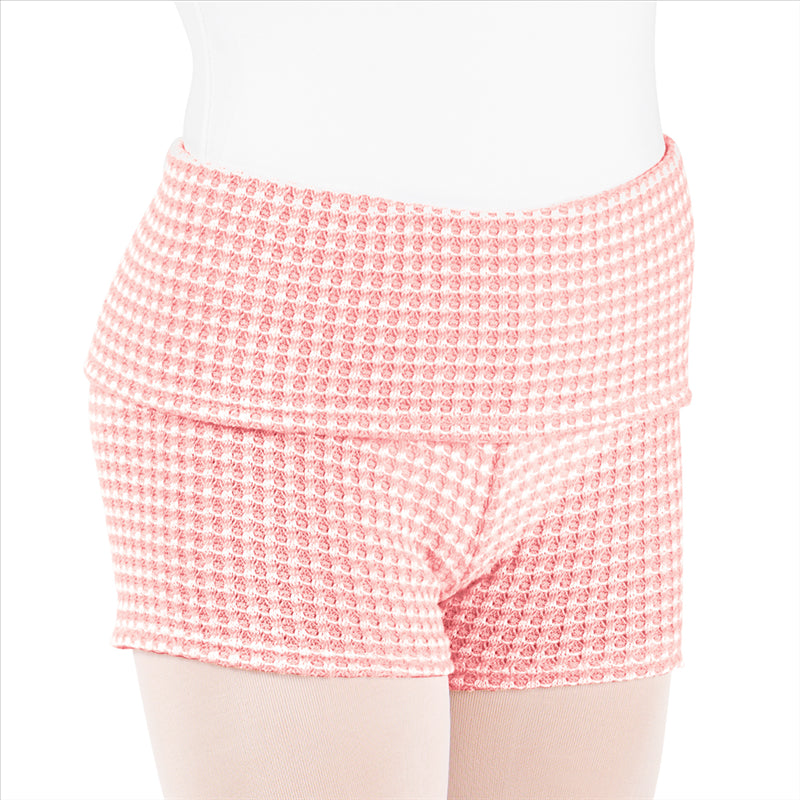 Thermal Turn Down Shorts - Dance Emporium