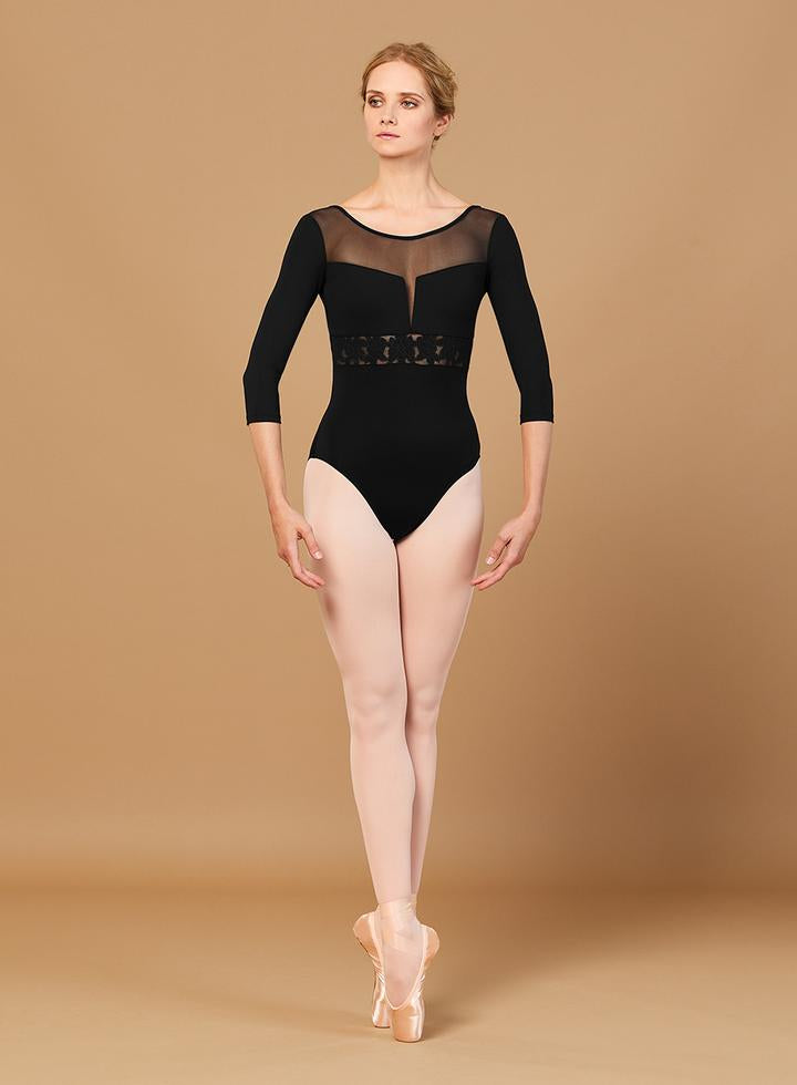 Jillian Bloch Mesh Leotard